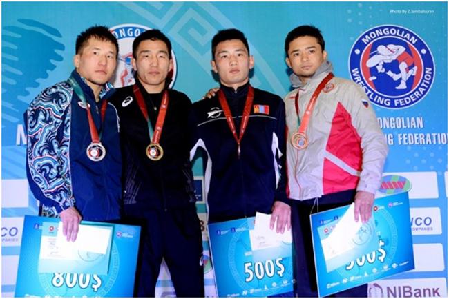 Mongolia open-2017: Таван алтан медаль хүртээд байна