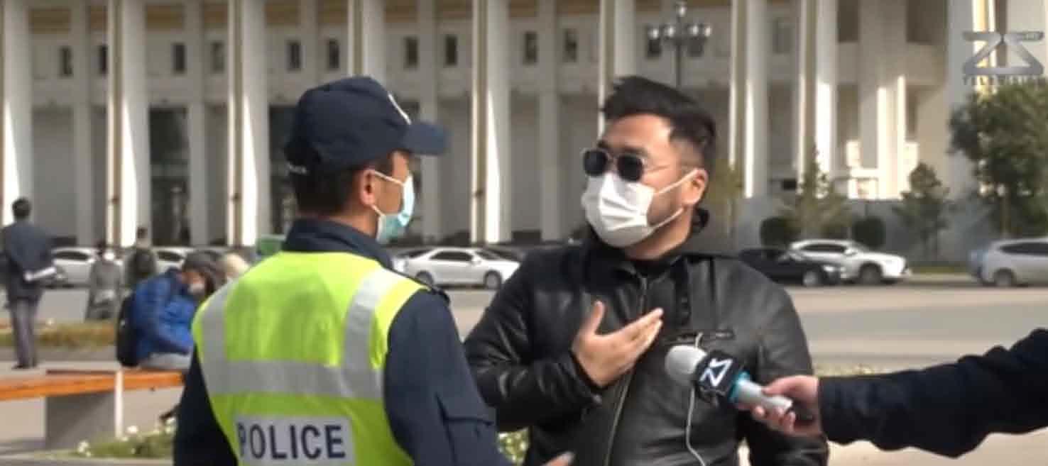 Сүхийн талбай дээр хэвлэлд ярилцлага өгвөл цагдаагаас зөвшөөрөл авдаг болжээ